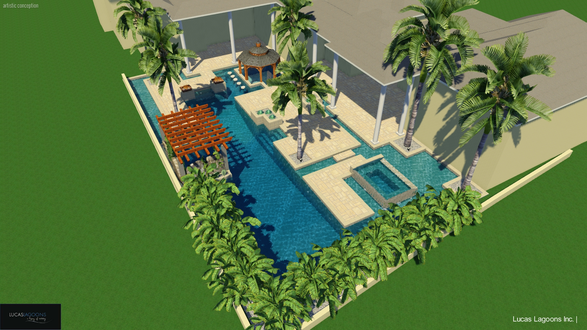 custom pools | lucas lagoons