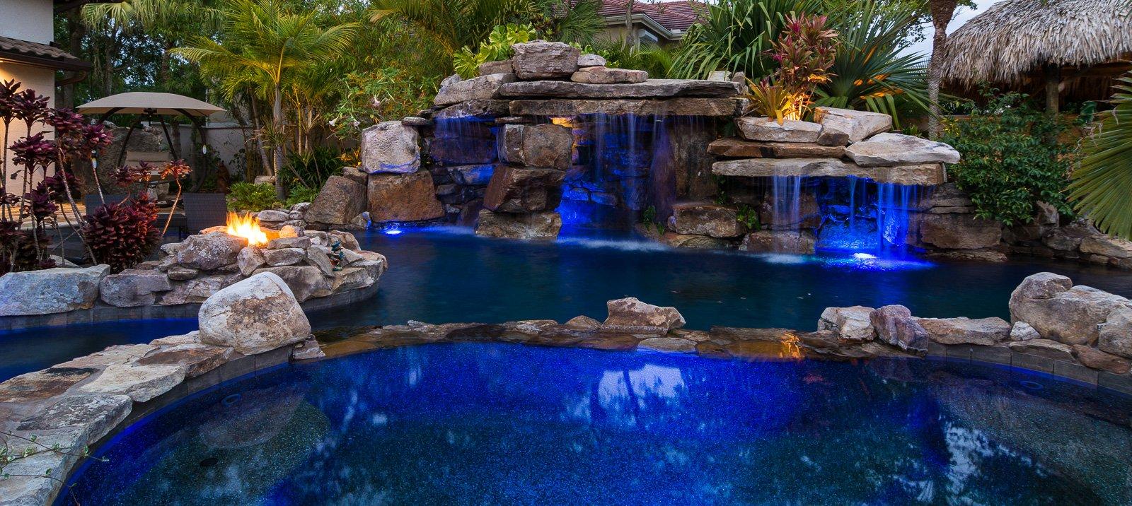 Modern zen minimalistic designer modern pools by lucas lagoons for Zen pool design
