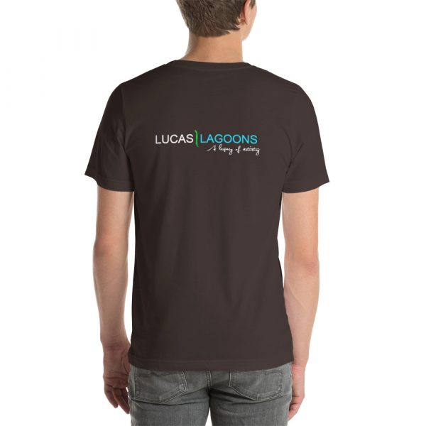 The classic Lucas Lagoons Crew Tee - Brown