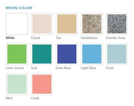 Ledge Lounger Colors