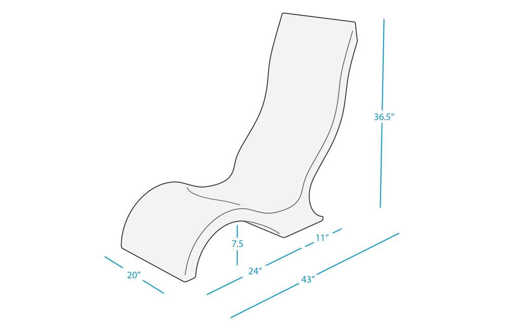 Ledge Lounger Chair Dim