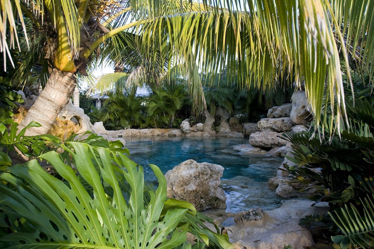 Lucas Lagoon Natural Limestone Blue Lagoon