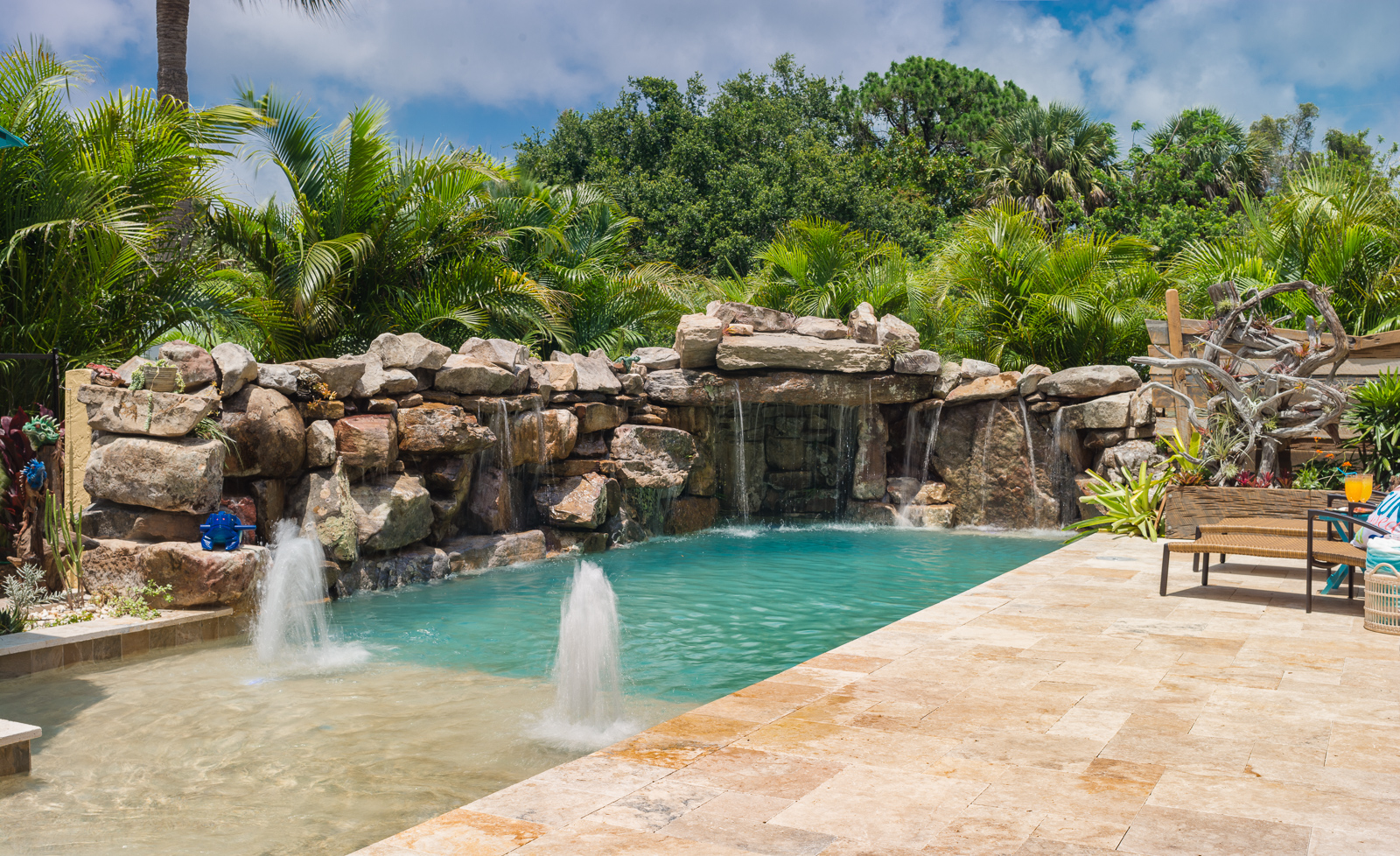 Insane pools tv episode small yard big dreams - What do dreams about swimming pools mean ...