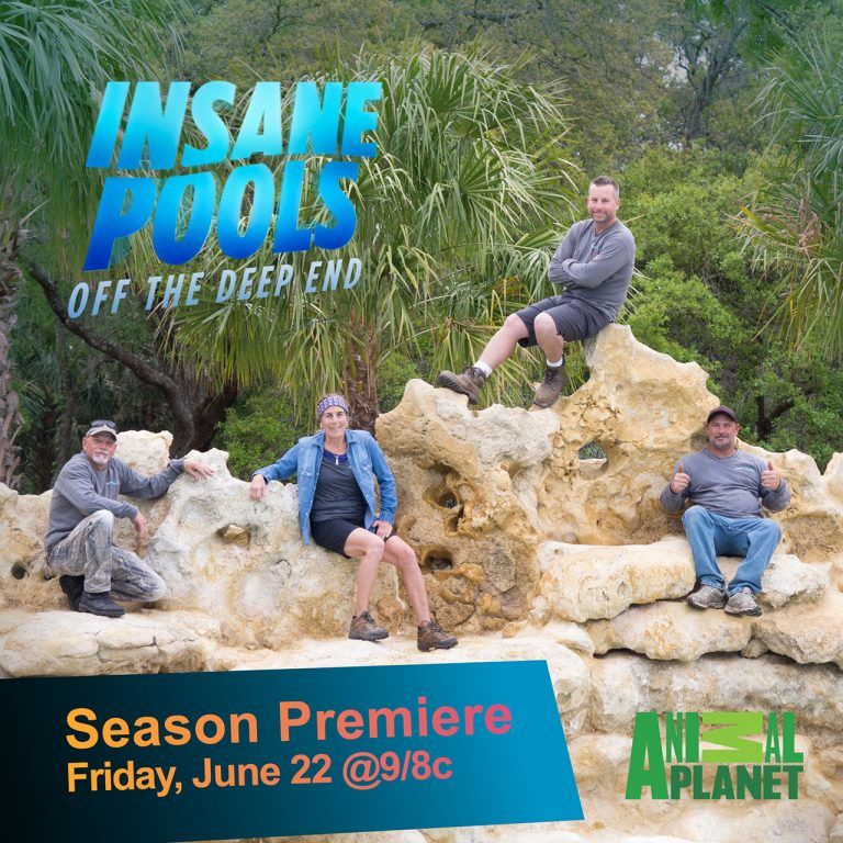 Insane Pools TV Series - Insane Pools Off The Deep End TV Series Lucas Lagoons