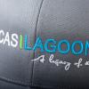 Lucas Lagoons baseball cap Logo Hat detail