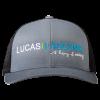 Lucas Lagoons baseball cap Logo Hat front