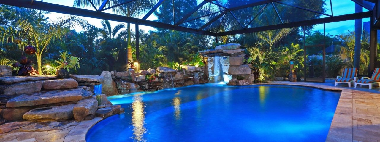 Natural Custom Pool grotto Sarasota