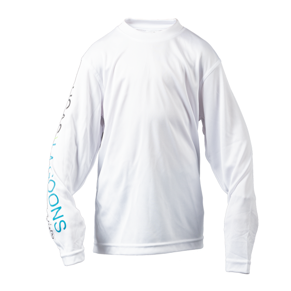 Youth performance uv long sleeve top front