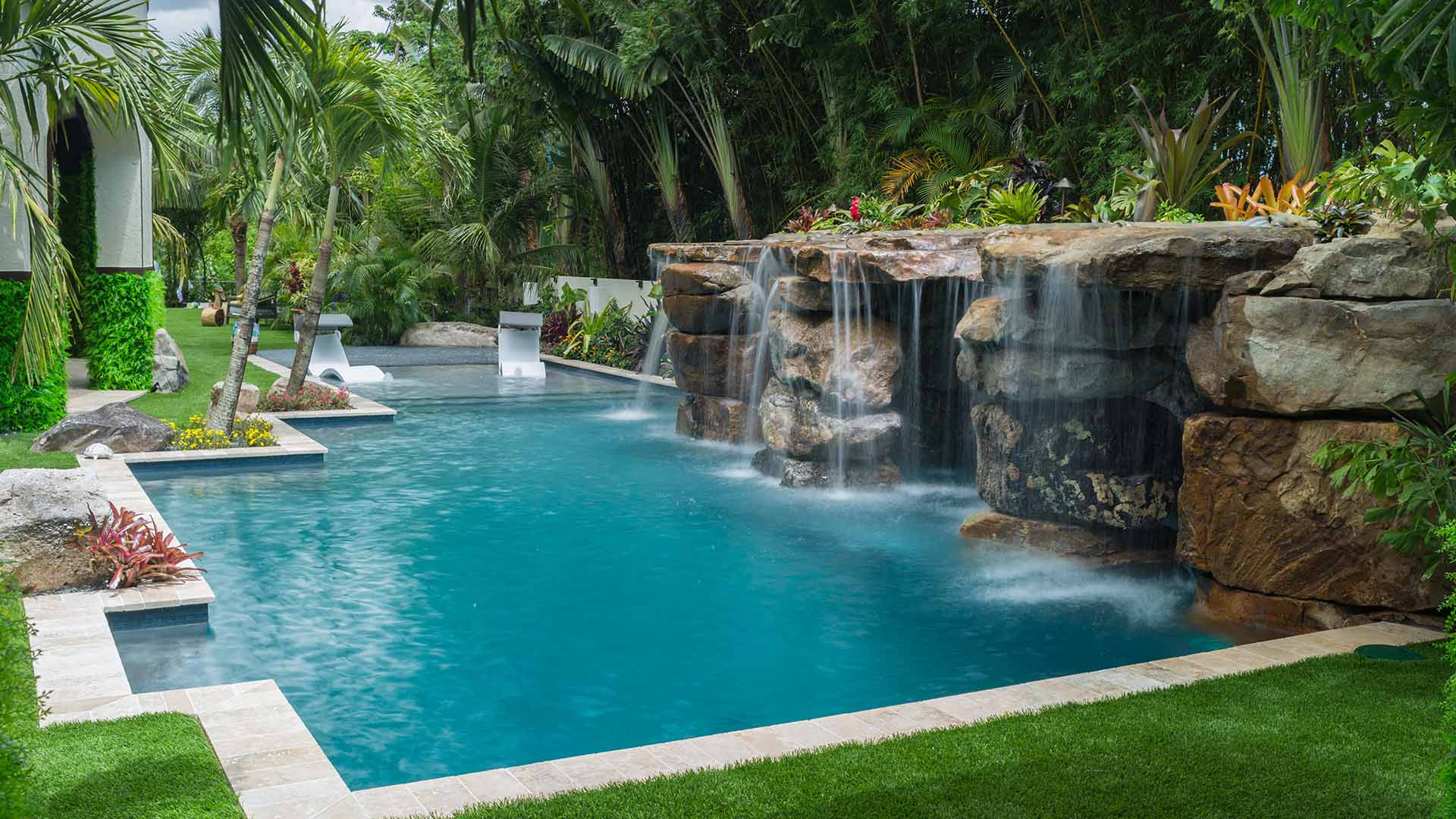Lucas Lagoons Custom Pool Builder In