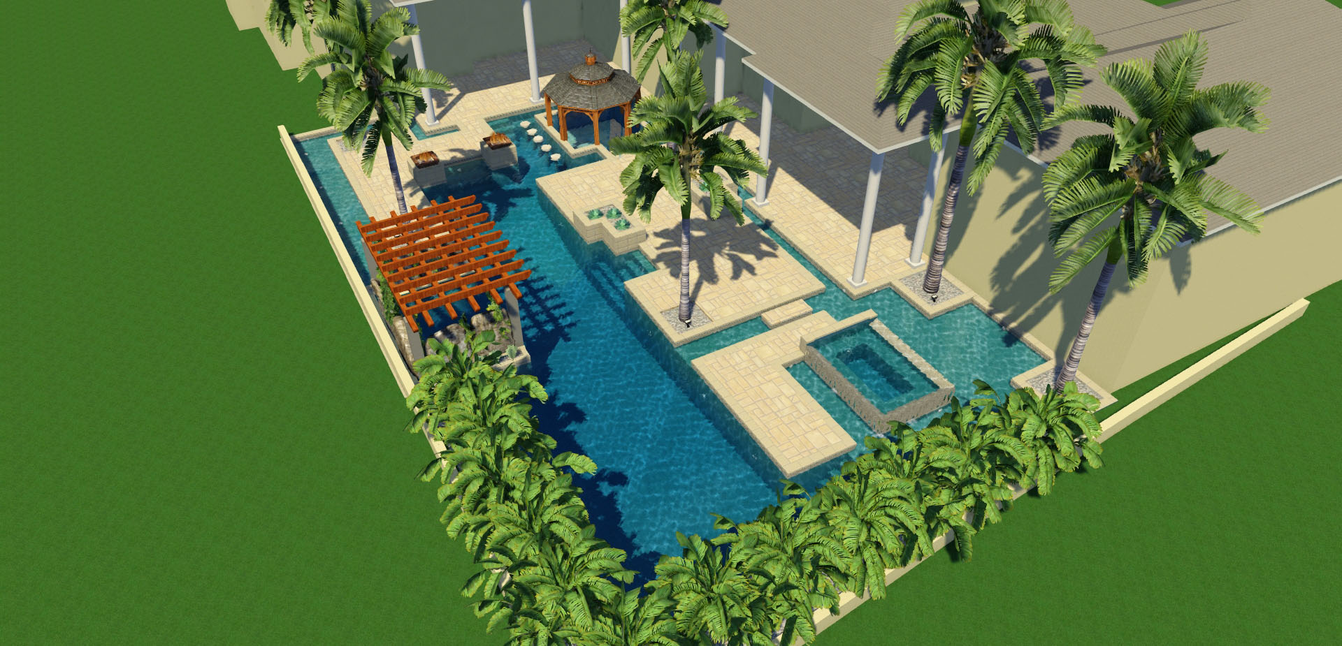 Custom Pools By Lucas Lagoons Pool Design Consultation