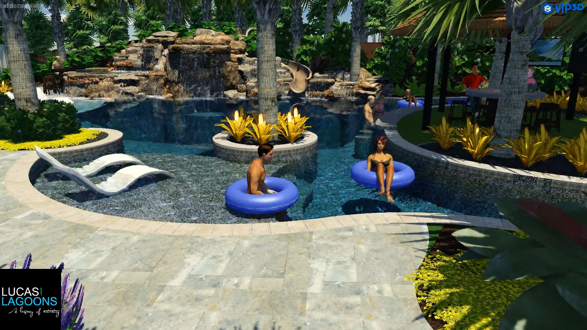Lazy River Pool Design