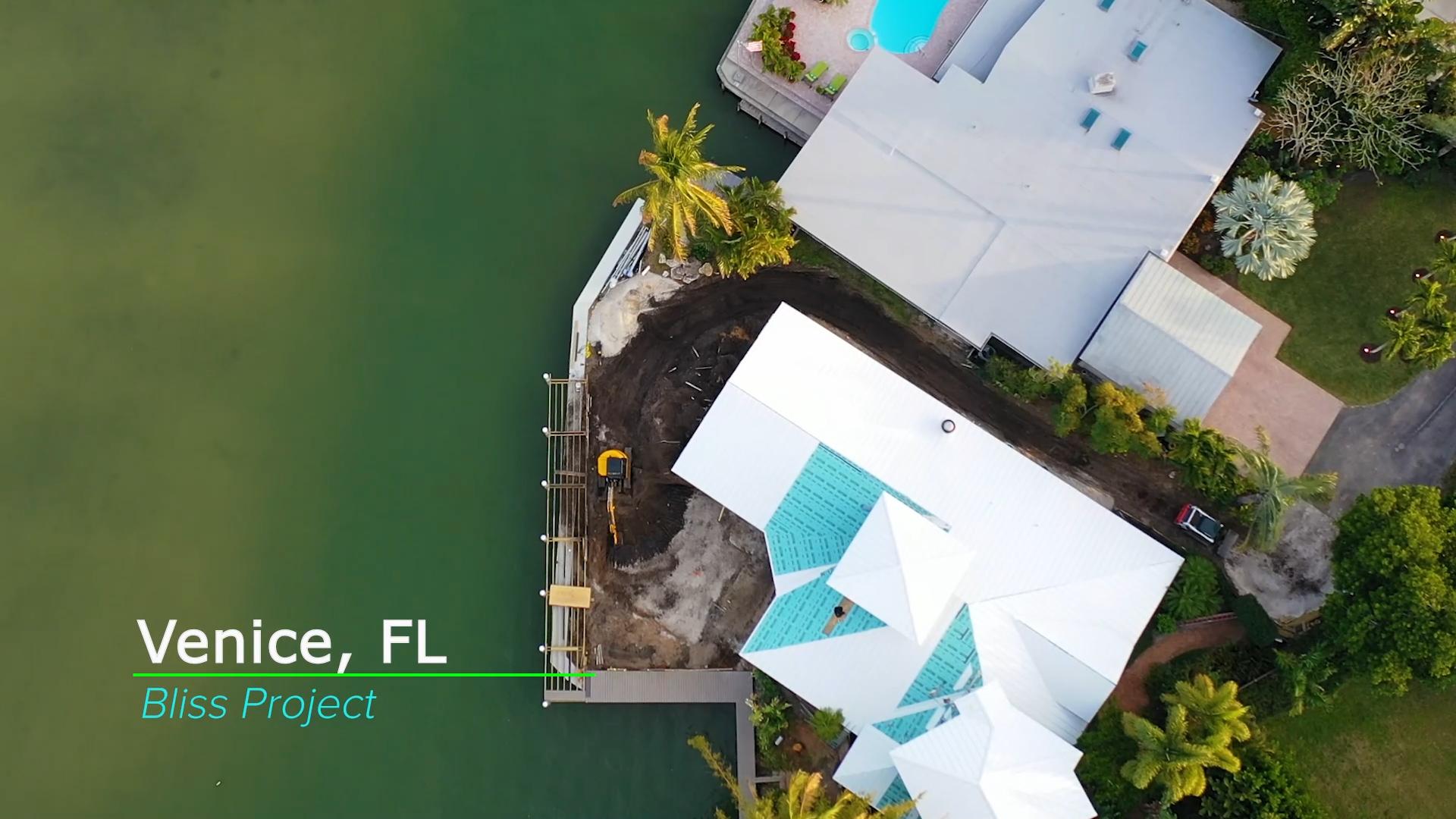 Modern Pool Build in Venice, Florida
